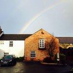 Rainbow over Hotel