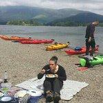 Island lunch break