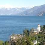 Lake Como as seen from Reception