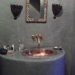detail salle de bain