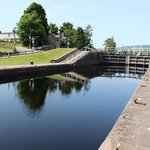 Fort August Canal Locks
