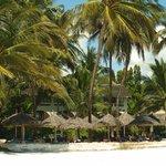 Resort vanaf het strand