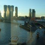 View over Erasmus Bridge