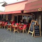 Terras van restaurant Rekko aan het Vrijthof.