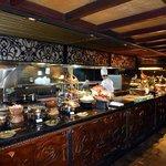 Tolles indonesisches Büffet im Padi-Restaurant