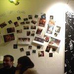 Photos wall