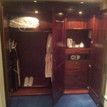 Cupboards and robes