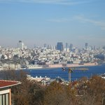 View of Bosphorus from the room
