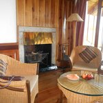Yes, the Hybrid Cottage has a fireplace