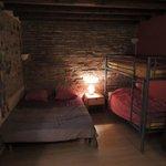 kamer voor met 4, bed van 1.20