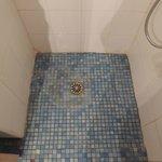 douche met gordijn