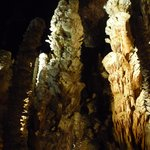 Juegos de luz en la gruta