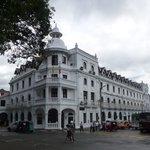 Front of Queen's Hotel