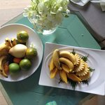 Welcome fruits the first day