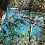 La belleza del Rio Verde en el Parque Nacional