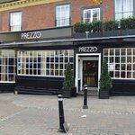 Outside Prezzo's Bury St. Edmunds