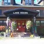 Main Entrance to the Lake House.