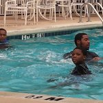 pool at clarion