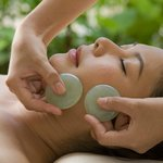 Crystal facial and body massage