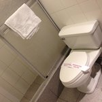 Baño de habitación standar