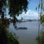 hermosa vista al rio