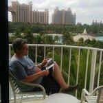 Vista desde el balcón, lo mejor.