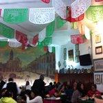 Decoração com as cores do México
