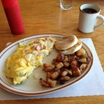 Ah, the Denver for breakfast!  A very good choice and very reasonable on the pocket!