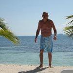 En una paradisiaca playa al Sur