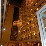 Innenansicht der Hotellobby