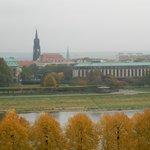 Blick aus dem Fenster Ri DD Neustadt