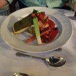 Cod with Herb Crust - again fantastic...