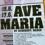 St Francis Church Organ Concert pamphlet