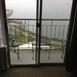 Balcony of king sized room