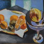 Henri Matisse - Nature morte aux fruits, 1915 at Staatliche Kunsthalle Karlsruhe Germany