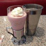 My strawberry shake