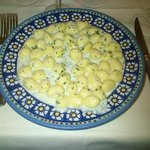 Gnocci gorgonzola