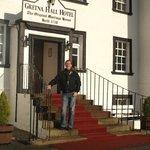 Gretna Hall hotel entrance