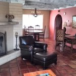Casita Living Room with Fire
