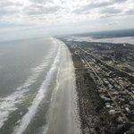 st.augustine beach coastline