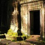 Lumière du temple de Ta Prohm ...