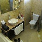 Bathroom in older section