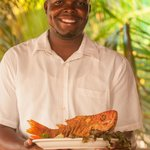 Randy is one of our waiters here to serve you.