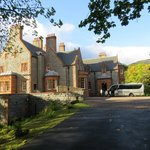 Glencoe House in the sunshine