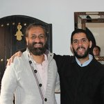 Hassan a great guy (on the right)