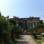 Lucca, Palazzo Pfanner visto dal giardino