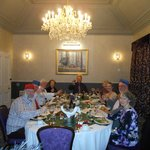 Inverness Tours enjoys dinner at the Beaufort Hotel