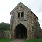 Cleeve Abbey,gate house.