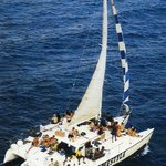 Freestyle Sailing the Crystal Clear Waters of Montego Bay Jamaica