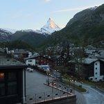 View from balcony towards Matterhorn